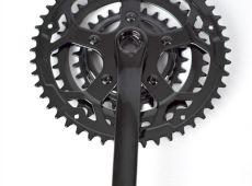 Окраска деталей велосипеда в черный цвет